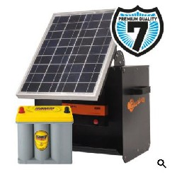 Electrificateur S180 (Caisson Solaire + B180 + 20W + Optima 2,7l) Gallagher
