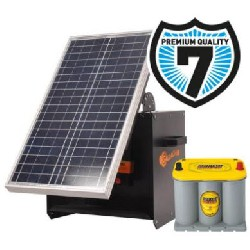 Electrificateur S280 (Caisson Solaire + B280 + 30W + Optima 3,7l) Gallagher