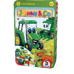 PUZZLE TRACTEUR JOHN DEERE JOHNNY & CO