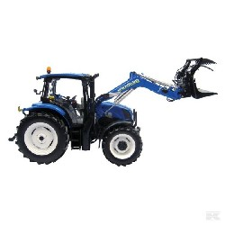 JOUET : NEW HOLLAND T6.140 AVEC CHARGEUR FRONTAL